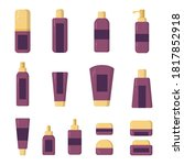 Set Of Stylish Vector Jars ...