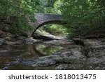 An Old Stone Arch Bridge...
