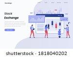 stock exchange illustration...