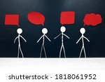 Human Stick Figure With Diverse ...