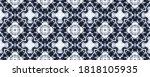 Blue Indonesian Mosaic Floor....
