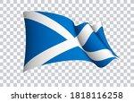 scotland flag state symbol...   Shutterstock .eps vector #1818116258