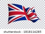 britain flag state symbol... | Shutterstock .eps vector #1818116285