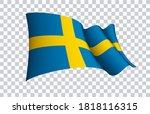 sweden flag state symbol...   Shutterstock .eps vector #1818116315