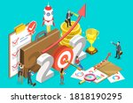 2021   successful year of... | Shutterstock . vector #1818190295