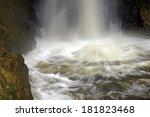 minnehaha falls in minnesota ... | Shutterstock . vector #181823468
