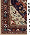 vintage persian design in... | Shutterstock .eps vector #1818281792
