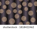 seamless variegated patterns on ... | Shutterstock .eps vector #1818422462