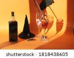 Halloween Drinks  Worm Jelly...