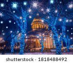 Christmas In Russia. New Year...