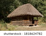 An Old Thatched House In The...