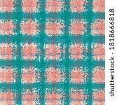Vector Plaid Weave Seamless...