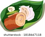 fish sausage shape machine... | Shutterstock .eps vector #1818667118