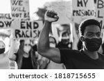 Multiracial People Wearing Face ...
