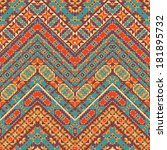 seamless colorful oriental... | Shutterstock .eps vector #181895732