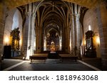 Interior Of The Main Nave Of...