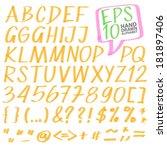 alfabet,apostrof,beugel,borstel,collectie,getrokken,uitroepteken,lettertype,afbeeldingen,met de hand geschreven,markeerstift,inkt,brieven,nummers,potlood