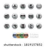 household appliances icons   ... | Shutterstock .eps vector #1819157852