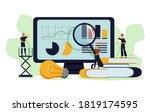 data analysis education ... | Shutterstock .eps vector #1819174595