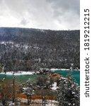 Cold Winter Landscape Of A...