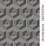 seamless art deco background... | Shutterstock .eps vector #181922516
