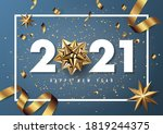 merry christmas and happy new... | Shutterstock .eps vector #1819244375