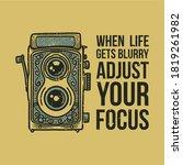 vintage slogan typography when...   Shutterstock .eps vector #1819261982