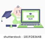 child's education plan... | Shutterstock .eps vector #1819283648