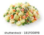 Homemade Frozen Vegetables On...