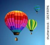 hot air balloons | Shutterstock .eps vector #18193096