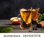 Warm Apple Cider With Spices ...