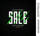 artistic promotion black friday ...   Shutterstock .eps vector #1819378112