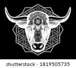 ornatetaurus zodiac star sign...   Shutterstock .eps vector #1819505735