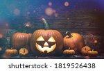Happy Halloween. Carved Pumpkin....