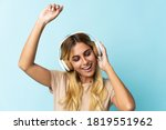 young blonde uruguayan isolated ... | Shutterstock . vector #1819551962