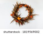 A Wreath Of Branches  Decorated ...