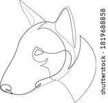 Bull Terrier Vector Dog...