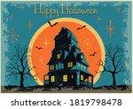 mid century modern style...   Shutterstock .eps vector #1819798478