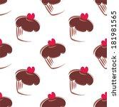 seamless vector pattern or...   Shutterstock .eps vector #181981565