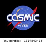 cosmic vibes space related...   Shutterstock .eps vector #1819843415