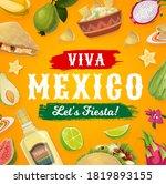 Viva Mexico Fiesta Party Food...