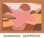 set of mid century modern... | Shutterstock .eps vector #1819905332