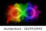 Infinity Rainbow Symbol Which...