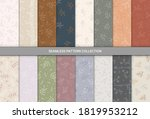 seamless pattern with hand... | Shutterstock .eps vector #1819953212