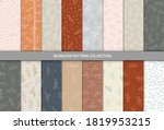seamless pattern with hand... | Shutterstock .eps vector #1819953215