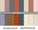 seamless pattern with hand... | Shutterstock .eps vector #1819953218