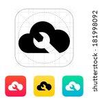 repair cloud icon.