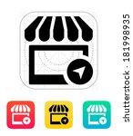 shop location icon.