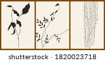 a set of three abstract...   Shutterstock .eps vector #1820023718