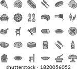 thin line gray tint vector icon ... | Shutterstock .eps vector #1820056052